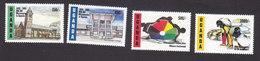 Uganda, Scott #1342-1345, Mint Hinged, Mill Hill Missionaries, Issued 1995 - Uganda (1962-...)