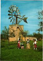 MALLORCA - ENERGIA EOLICA - MOINHO MOULIN MILL - GIROUETTE EOLIENNE WIND VANE - STAMP TIMBRE - Cape Verde