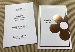 CC Carte Parfumée MARC JACOBS 'DAISY LOVE' Perfume Card - Perfume Cards