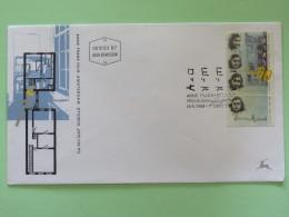 Israel 1988 FDC Cover - Anne Frank, Amsterdam - Israel