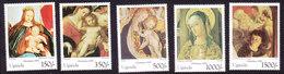 Uganda, Scott #1379-1382, Mint Hinged, Christmas, Issued 1995 - Uganda (1962-...)