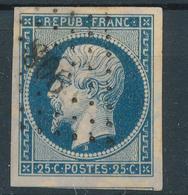 N°10 AVEC VOISIN LOSANGE PETITS CHIFFRES. - 1852 Louis-Napoleon