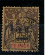 REUNION              N°  YVERT    54 D        OBLITERE       ( O   3/14 ) - Réunion (1852-1975)