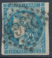 N°45 OBLITERATION.BELLE FRAPPE. - 1870 Emission De Bordeaux