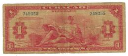 Curacao, 1 Gulden 1942, Used, See Scan. - Netherlands Antilles (...-1986)