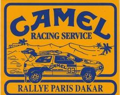 AUTOCOLLANT...CAMEL RACING SERVICE  RALLYE PARIS DAKAR - Stickers