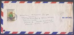 Birds, Postal History Cover From TRINIDAD & TOBAGO, Used 1993 - Trinidad & Tobago (1962-...)