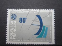 VEND BEAU TIMBRE DE POSTE AERIENNE DE POLYNESIE N° 136 , XX !!! - Poste Aérienne