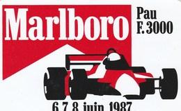 AUTOCOLLANT...MARLBOROO   PAU F.3000   1987 - Stickers