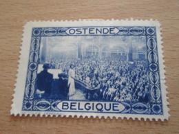 TIMBRE BELGIQUE ANNEES 30 OSTENDE REUNION PUBLIQUE - Belgium