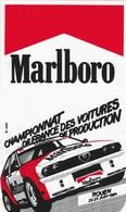 AUTOCOLLANT...MARLBORO  CHAMPIONNAT DE FRANCE DES VOITURES DE PRODUCTION  ROUEN  1984 - Stickers