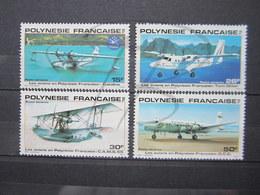 VEND BEAUX TIMBRES DE POSTE AERIENNE DE POLYNESIE N° 156 - 159 , XX !!! - Poste Aérienne