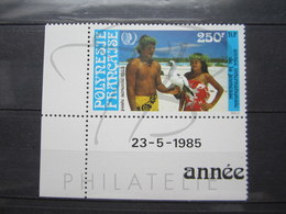VEND BEAU TIMBRE DE POSTE AERIENNE DE POLYNESIE N° 188 + BDF COIN DATE , XX !!! - Poste Aérienne