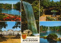 Netherlands - Postcard Unused - Apeldoorn - Collage Of Images - Apeldoorn