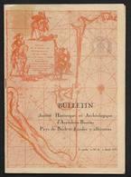 Arcachon Pays De Buch & Landes Andernos Gujan Mestras Etc .. Bulletin Histoire & Archéologie 1973 - Aquitaine