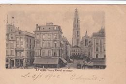 ANTWERPEN / VIEUX CANAL AU SUCRE / TRAM / TRAMWAYS  1902 - Antwerpen