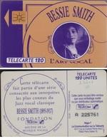 F232.1 TÉLÉCARTE 120 U BESSIE SMITH  N° A 225761 (   2 ROND - France