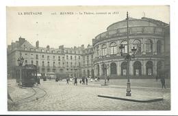 35/ ILLE Et VILAINE...RENNES. Le Théâtre, Construit En 1835 - Rennes