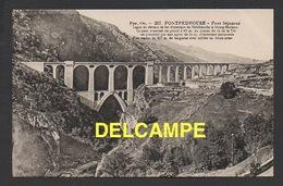 DD / 66 PYRÉNÉES ORIENTALES / FONTPEDROUSE / LE PONT SÉJOURNÉ / LIGNE DU CHEMIN DE FER ÉLECTRIQUE - Frankreich