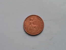 1932 - 1/2 Penny / KM 837 ( For Grade, Please See Photo ) ! - 1902-1971 : Monnaies Post-Victoriennes
