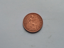 1935 - 1/2 Penny / KM 837 ( For Grade, Please See Photo ) ! - 1902-1971 : Monnaies Post-Victoriennes