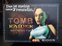 Tomb Reider The Game Lara Croft Carte Postale - Advertising