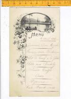 Od 649 - MENU 1912 - Menus