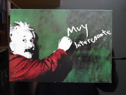 Albert Einstein Carte Postale - Nobel Prize Laureates