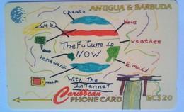 177CATC  Internet  $20 - Antigua And Barbuda