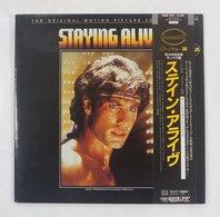 Vinyl LP:  Staying Alive OST  28MW 0035 RSO 1983 JPN - Soundtracks, Film Music