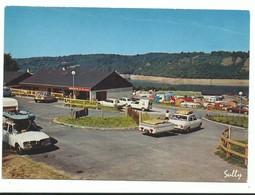 CPM 15 Lanobre - Camping Caravaning De La Siauve - écrite - Sully - Renault 16 504 Et Voiture Vintage. - France