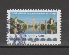 """FRANCE / 2017 / Y&T N° AA 1472 ? : """"Ponts & Viaducs"""" (Pont Valentré) - Choisi - Cachet Rond - France"""