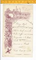 Od 651 - MENU 1911 - Menus