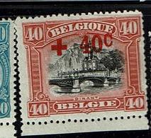 158  **  85 - 1918 Croix-Rouge