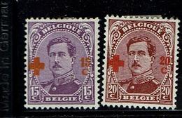 154/5  *  Amincis  23 - 1918 Croix-Rouge