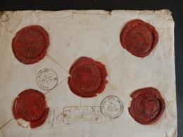 Courriers Chargés - Marcophilie (Lettres)