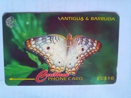 132CATA Ten Eye Butterfly $10 - Antigua And Barbuda