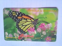 132CATC Monarch $20 - Antigua And Barbuda