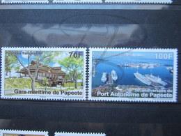 VEND BEAUX TIMBRES DE POLYNESIE N° 979 + 980 , XX !!! - Polynésie Française