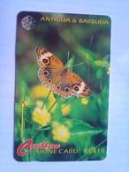 132CATB Donkey Eye Butterfly $10 - Antigua And Barbuda