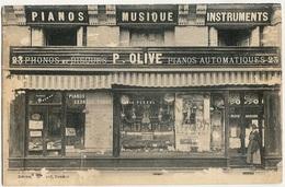 49) SAUMUR - Commerce De Paul Olive - 23, Place Billange - Pianos, ... (1926) - Saumur