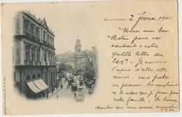 Rio De Janeiro  P. Used 1901  Edit Marc Ferrez Horse Tram - Rio De Janeiro