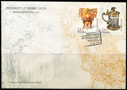 PA2186 Polish 2006 And China Unicom Gold And Silver First Day Cover MNH - Nuovi