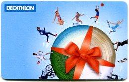 @+  Carte Cadeau - Gift Card : DECATHLON : GLOBE. - France