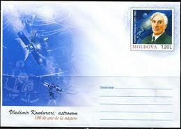 PA2189 Moldova 2011 Astronomer Aerospace Postage Seal MNH - Moldavie