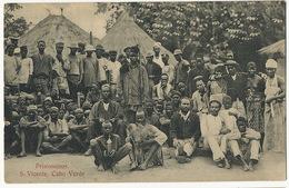 S. Vicente Cabo Verde Prisioneiros  Prisoners - Cape Verde