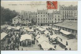 Rennes-Place De La Halle Au Blé Et La Poissonnerie - Rennes