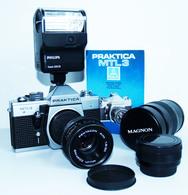 PRAKTICA MTL3 – Appareil Photo Pentacon – Made In R.D.A. - Cameras