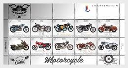 Liechtenstein 2016 Sheetlets - Legendary Motorcycles- Sheetlet DieMarke.li No.6- (Sheetlet Mint) - Liechtenstein