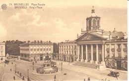 Bruxelles - CPA - Brussel - Place Royale - Marktpleinen, Pleinen